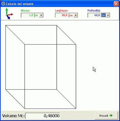CalcoloVolume